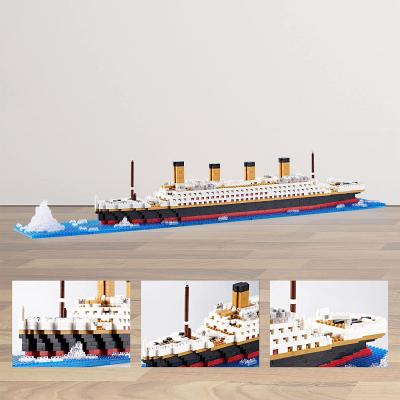 KLMEi Titanic Model Kit and for Kids and Adults ,Micro Block 1872 Pieces