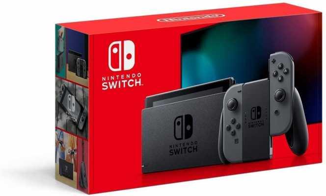 Nintendo Switch with Gray Joy‑Con -HAC-001(-01)
