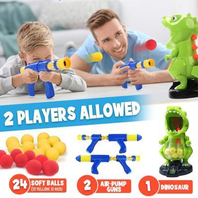 Dinonano Dinosaur Shooting Toy for Kids - Robot Dino Target Shooting Game