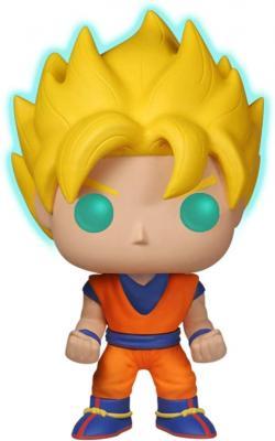 Funko Super Saiyan Goku [Glow-in-Dark] (EE Exclusive): Dragonball Z x POP