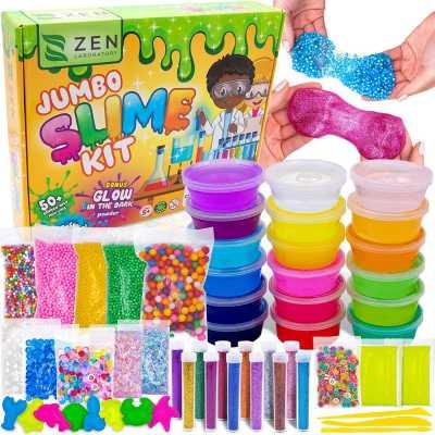 DIY Slime Kit Toy for Kids Girls Boys Ages 5-12