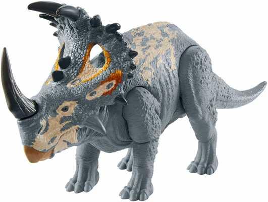 Jurassic WorldCampCretaceousIsla Nublar Sound Strike Medium-Size Dinosaur Action Figure