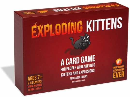 Exploding Kittens - A Russian Roulette Card Game, Easy Family-Friendly Party Games