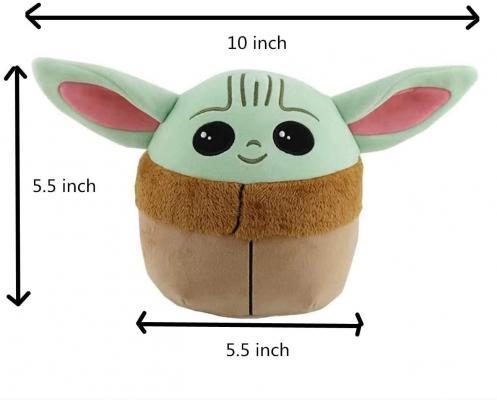 Baby Yoda Plush Stuffed Toy - Kids Toys Yoda Pillow Plush Toy (5.5 inch)